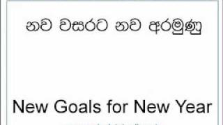 NevilleTalks: 6. New Year Resolutions! (in Sinhalese)