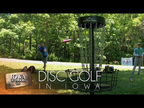 Disc Golf In Iowa