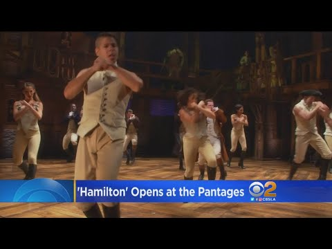 'Hamilton' Opens At The Pantages To Wild Enthusiasm