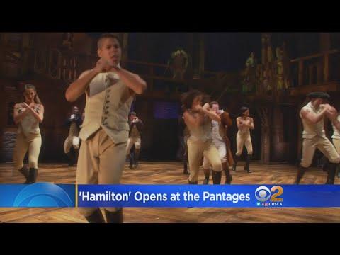 'Hamilton' Opens At The Pantages To Wild Enthusiasm