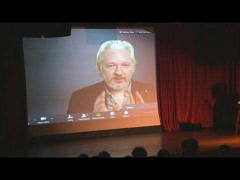 Assange: U.S. Spying on WikiLeaks Led to Downing of Morales Plane in Snowden Hunt