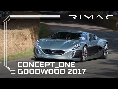 Rimac Concept_One at Goodwood Festival of Speed 2017