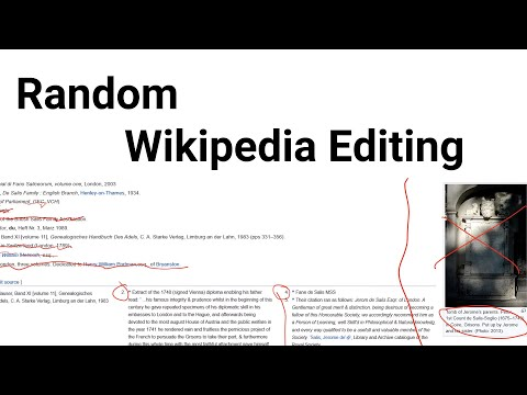 Editing Random Wikipedia Articles For 5 Minutes