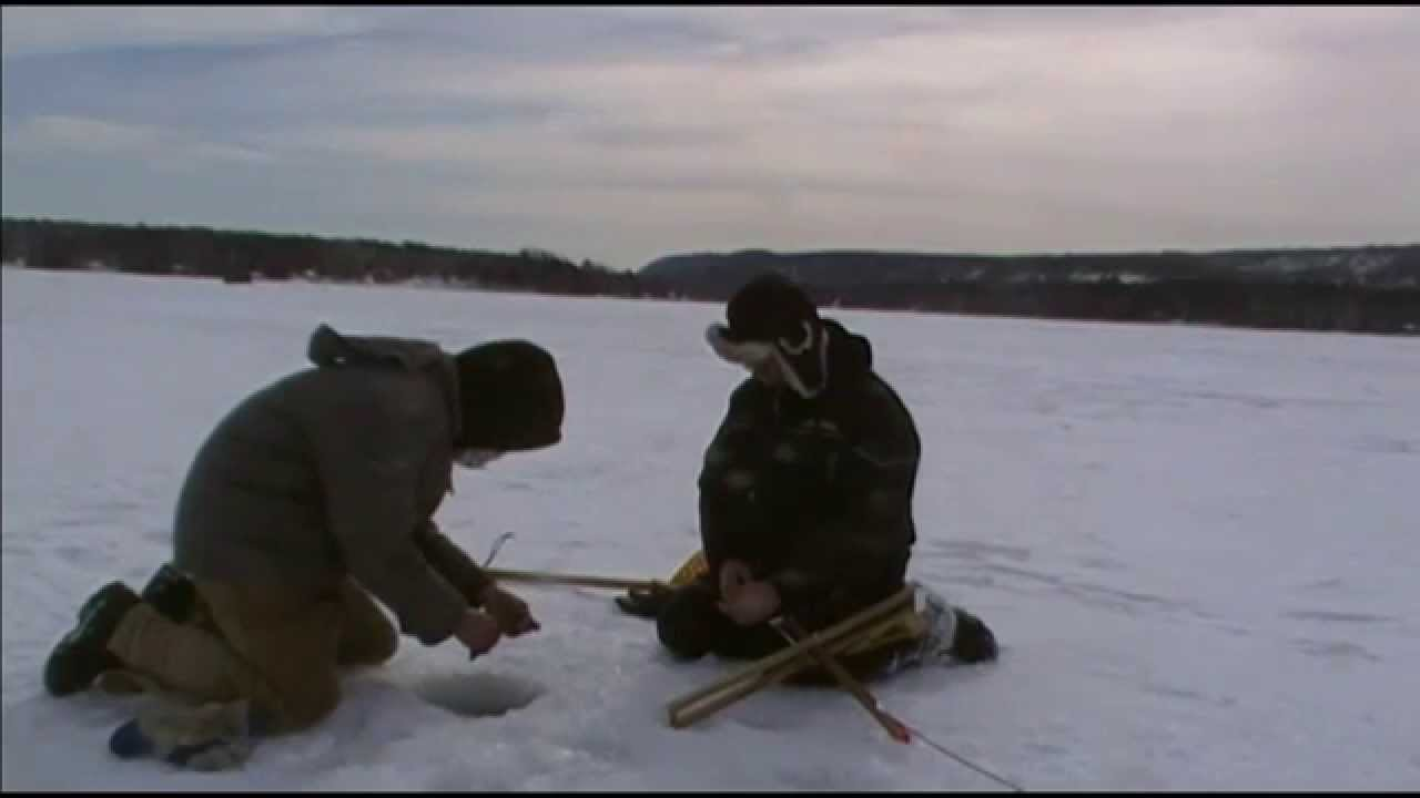 how to catch lake trout in maine