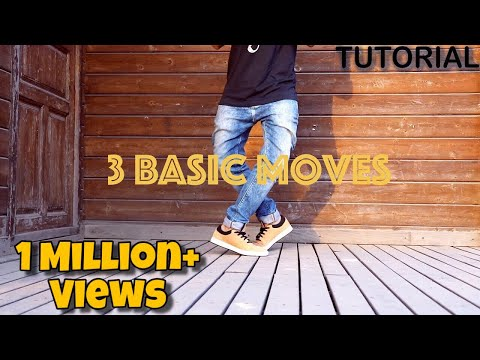 3 Basic Dance Moves For Beginners (Footwork Tutorial)