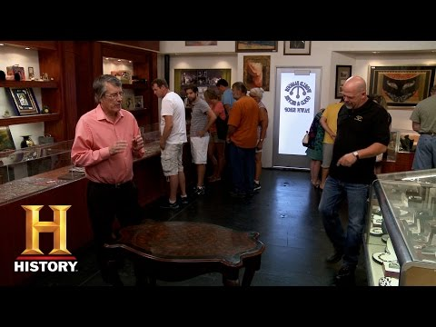 Pawn Stars: 1840s Chess Table | History