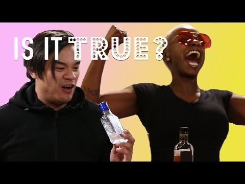Dark Liquor Gets You Drunk Quicker   Is It True?