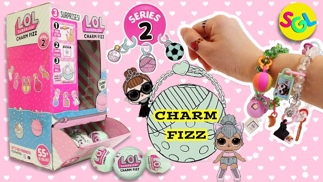 Lol Surprise Dolls Series 2 Charm Fizz Diy How To Make Charm