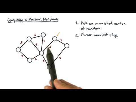 Computing a Maximal Matching