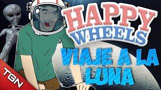 Happy Wheels: VIAJE A LA LUNA