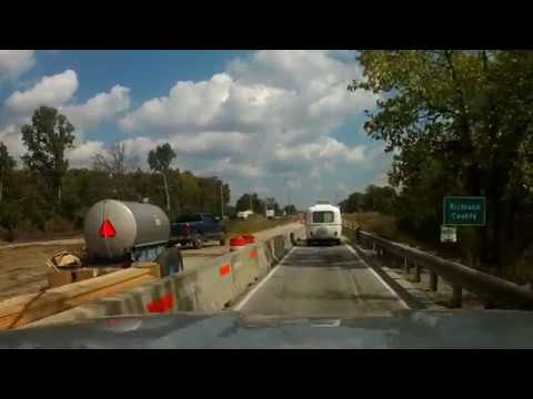 Big and Little Muddy Bridge Construction on US Route 50 IL 9-19-17