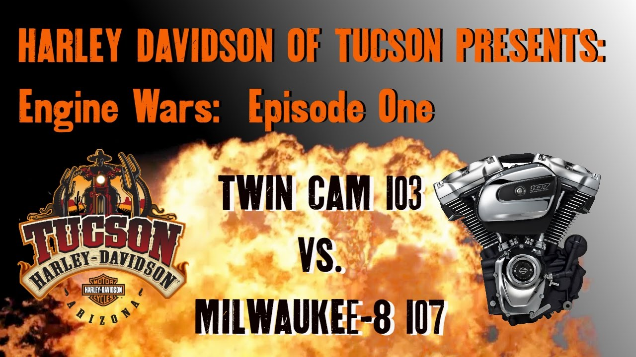 Engine Wars Episode One: Milwaukee Eight 107 vs Twin Cam 103