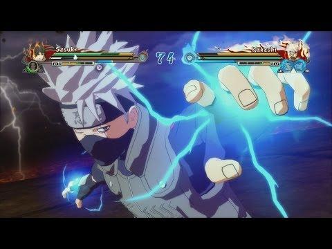 Naruto Shippuden Ultimate Ninja Storm Revolution - Demo: Kakashi Sasuke (1080p)