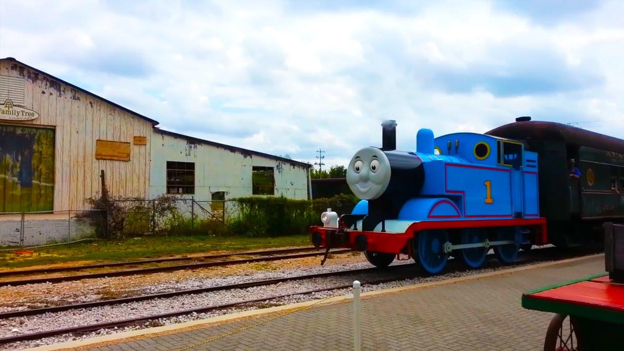 Thomas the Tank Engine Austin Steam Train in Texas - YouTube