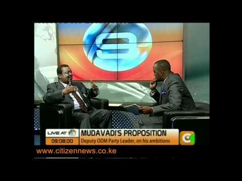Mudavadi Interview