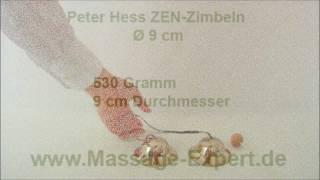 Peter Hess ZEN-Zimbeln groß, 9 cm Durchmesser