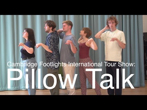 Cambridge Footlights get ready for worldwide tour