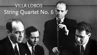 String Quartet No. 6 • Villa-Lobos • Stuyvesant Quartet