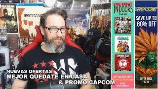 Ofertas Capcom & Mejor quédate en casa en PS Store Marzo 13, 2018