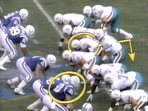 1990 Wk 17 Miami vs Indianapolis Highlights