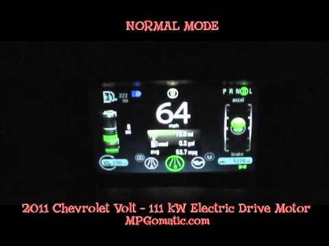 2011 Chevrolet Volt 0-60 MPH - YouTube