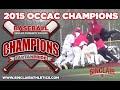 Sinclair Baseball 2015 OCCAC Champions
