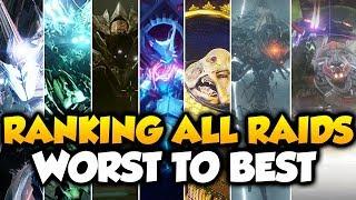Ranking All 7 Destiny Raids From Worst to Best! [Destiny 1 & 2]