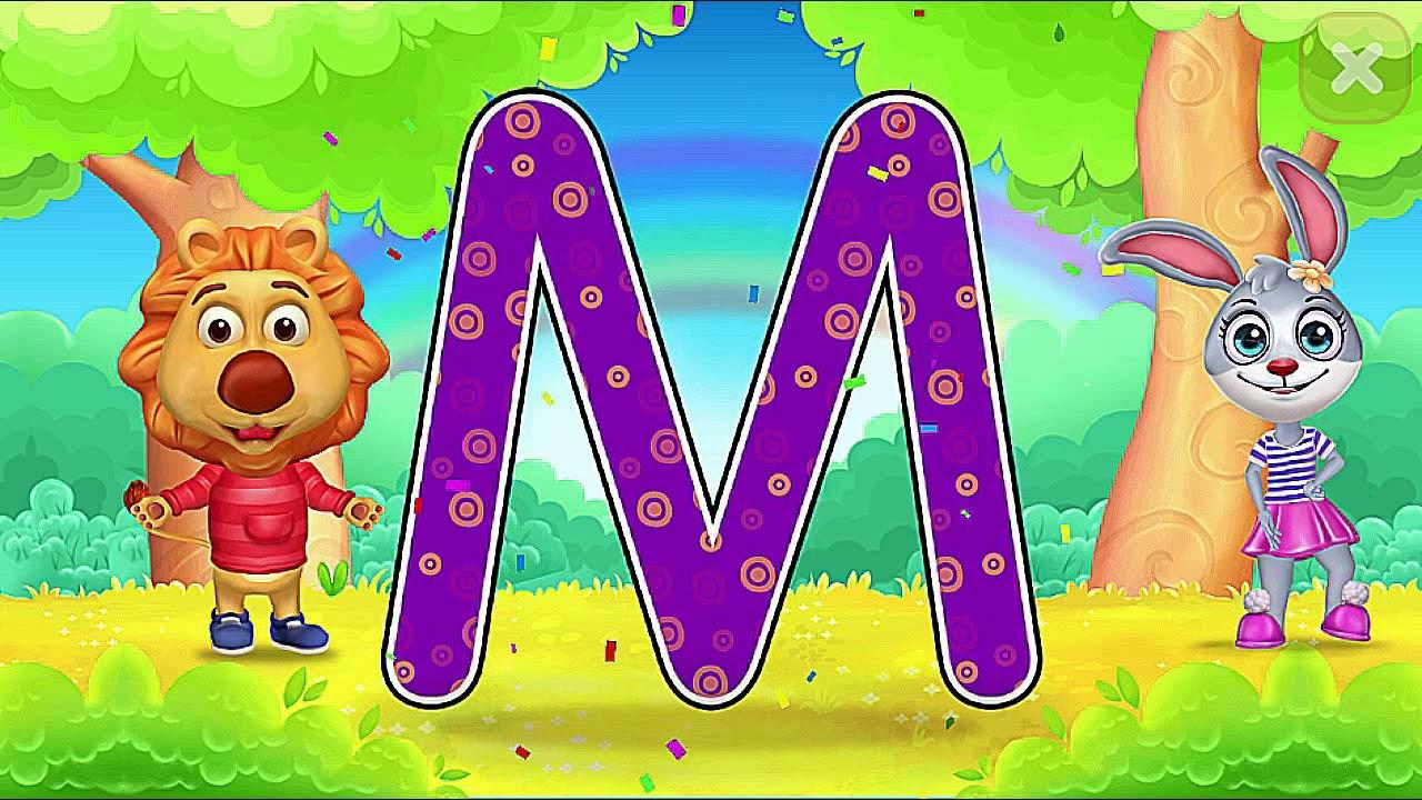 Учим Английский Алфавит весело видео для детей ютюб - YouTube