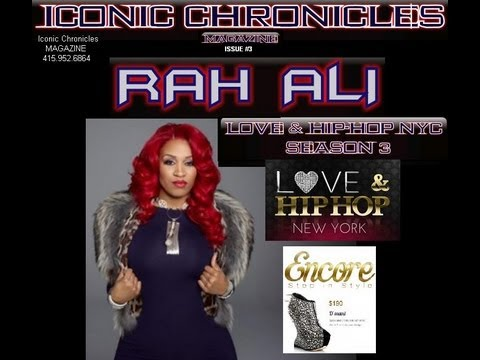 RahAli  Rashidah Ali | LOVE & HIP-HOP interview | Shannon LACY| @mslacy707 | Iconic Chronicles /KZCT