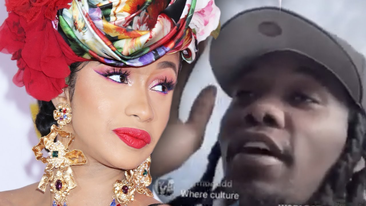Offset S Is Still Cheating On Cardi B With Some Self: Offset Speaks Cheating On Cardi B Claims In New Video