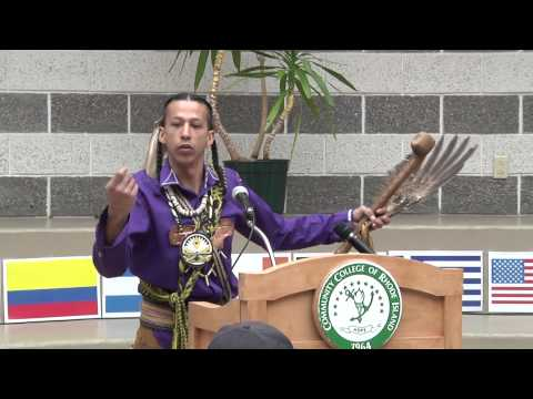 Narragansett Indian Nation flag unveiled at CCRI Liston Campus