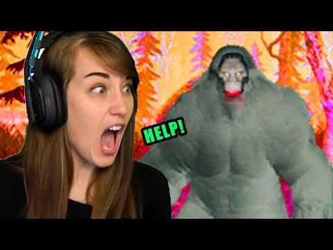 Finding & Hunting BIGFOOT! (Finding Bigfoot Game)