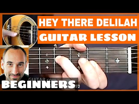 Hey There Delilah Guitar Lesson - part 1 of 3