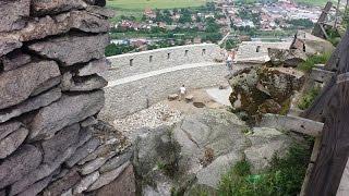 Cetatea Devei, ruinele fortificatiei medievale Transilvanene
