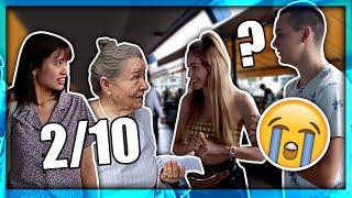 PROLAZNICI OCJENJUJU IZGLED MOG DEČKA! | xniks2x & 8rasta9