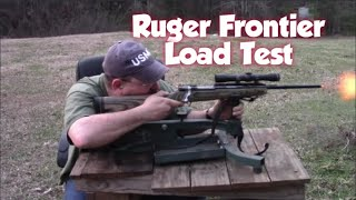 Ruger Frontier, two shot test
