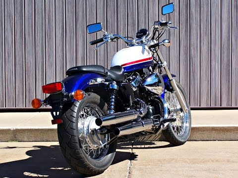 Sold 2011 Honda Shadow Rs Vt750rs 2178 Miles Youtube