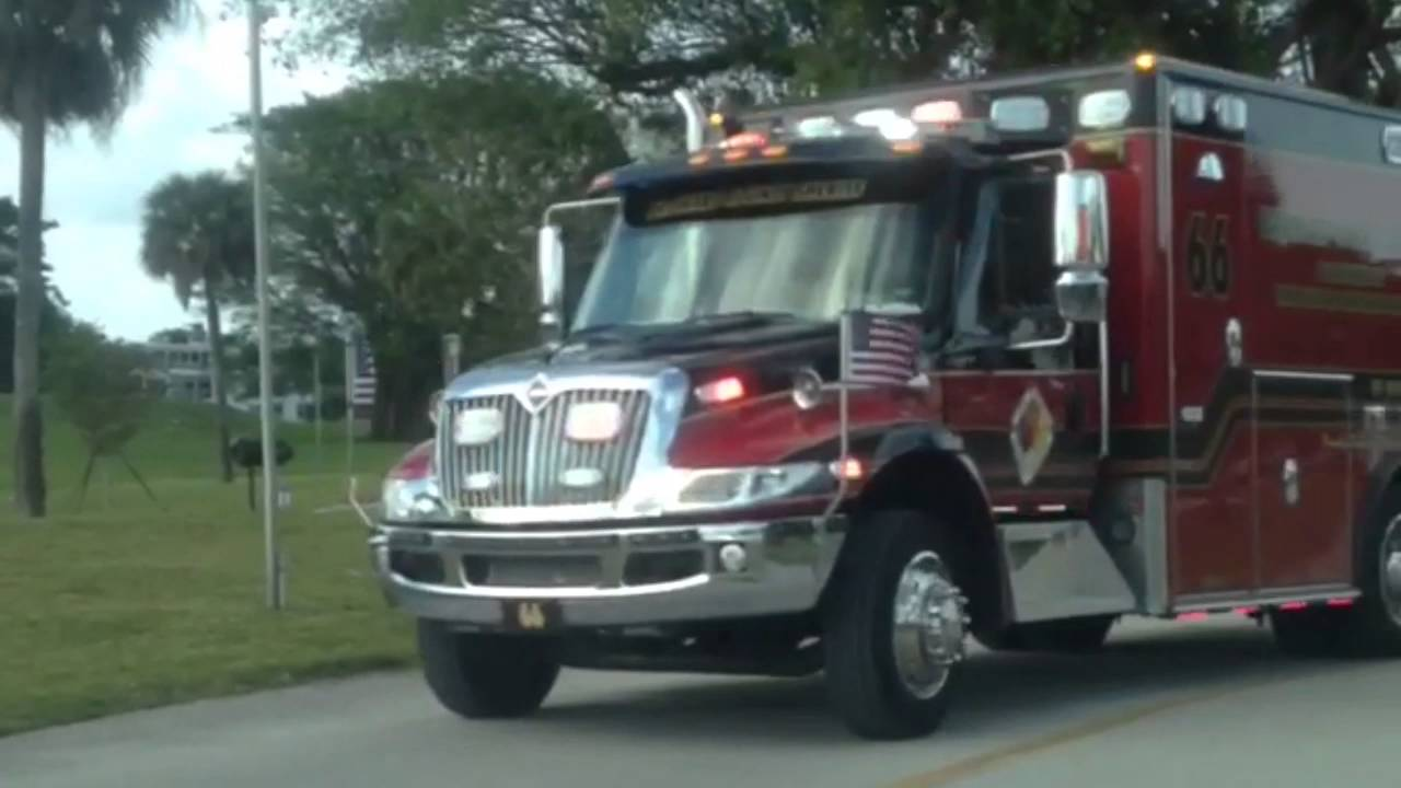 Broward County, FL Sheriff Fire/Rescue Ambulance/EMS