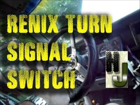 Replace Turn Signal Switch 1990 Cherokee - YouTube