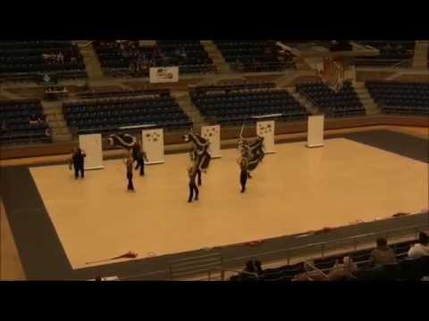 Maypearl Winterguard-Mansfield contest 2-21-15