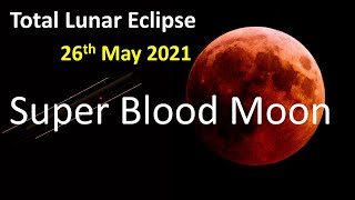 ... the may 2021 total lunar eclipse is set to occur in final...