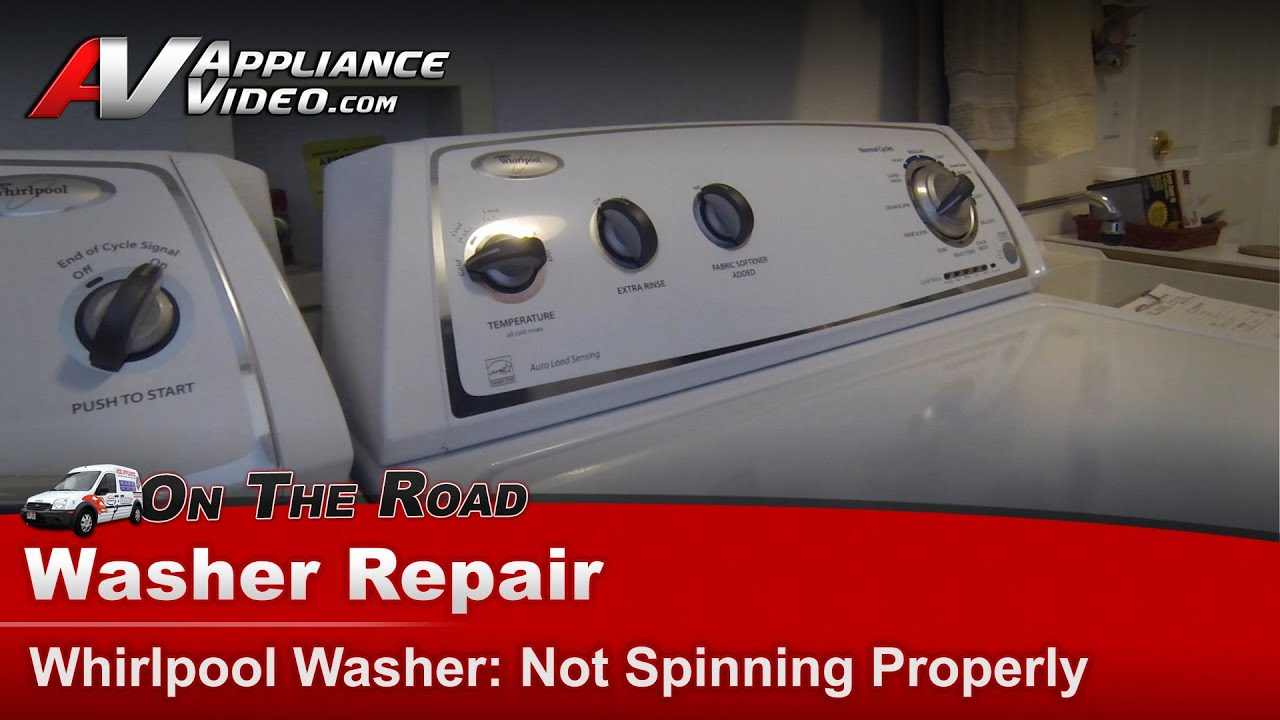 washer diagnostic repair