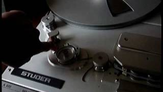 Studer A820 reel to reel tape recorder, the best!