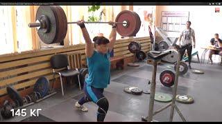 """#ТяжелаяАтлетика """"Подготовка к  России"""" Weightlifting"""