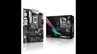aSUS STRIX Z270F Gaming Motherboard Unboxing