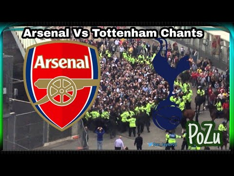 North London Derby Chants • Chants towards each other • Arsenal • Tottenham Hotspur • Mp3