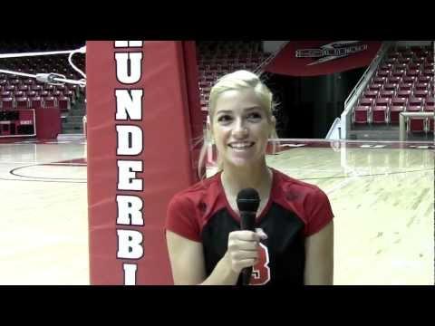 2012 SUU Volleyball Profiles - Jessica Johnson