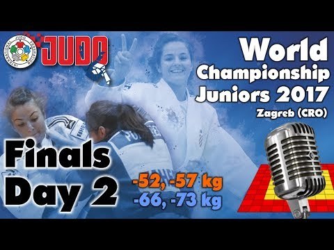 World Judo Championship Juniors 2017: Day 2 - Final Block