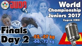 World Judo Championship Juniors 2017: Day 2 - Final Block