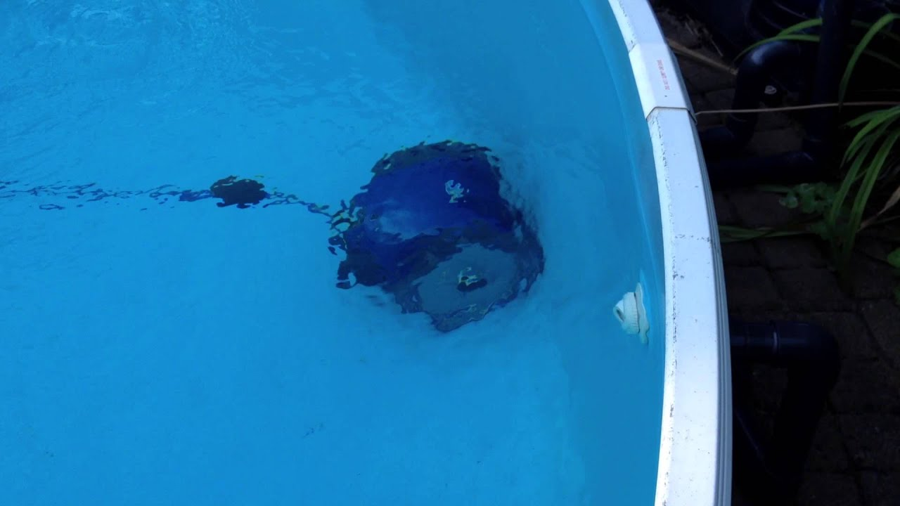 Pool Reinigen Youtube Zodiac Vortex 1 Poolroboter Youtube